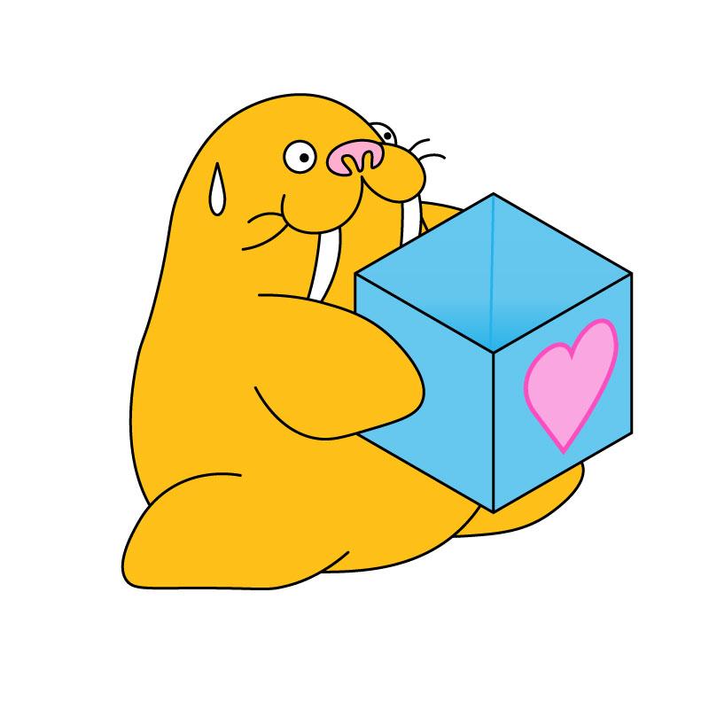 箱 | セイウチ | ぷにつく