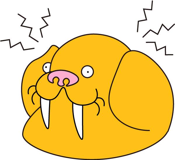 Headache Walrus | セイウチ | ぷにつく